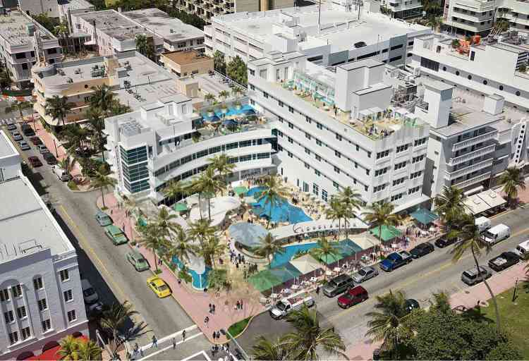 The Clevelander Hotel In South Beach Miami