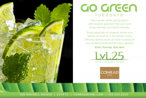 go-green-tuesdays-at-level-25