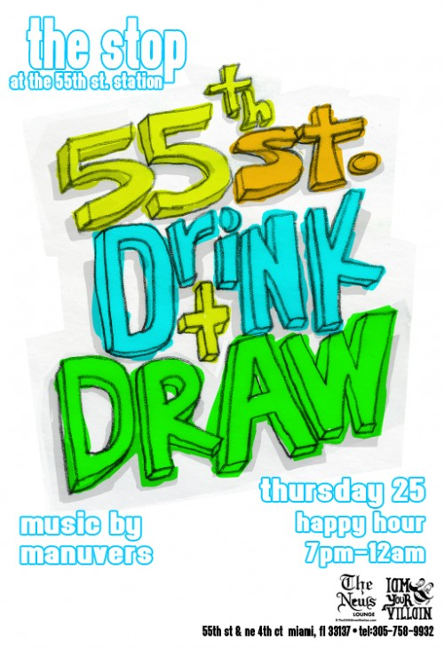 Thursday 25 Drnk & Draw