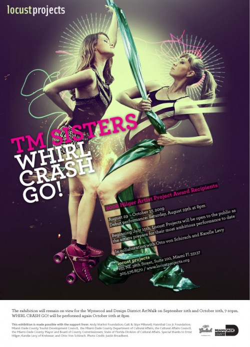 TM Sisters WHIRL CRASH GO!