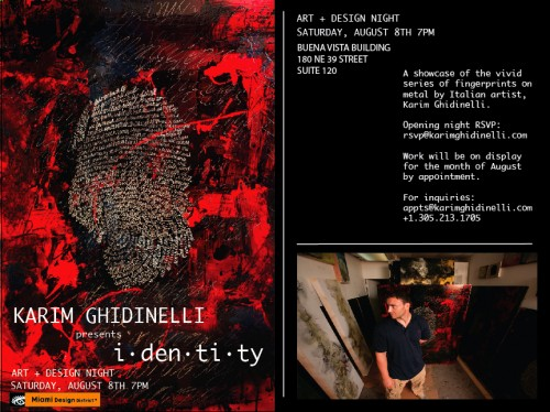Identity - Karim Ghidinelli Evite