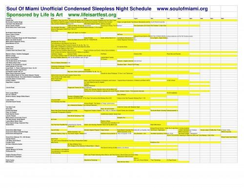 Sleepless Schedule
