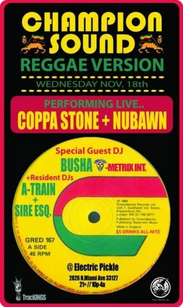 champion sound reggae version 11.18