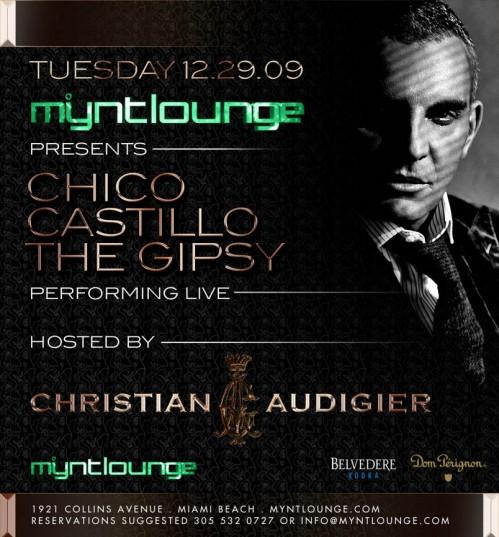 Christian Audigier & Chico 12-29-09 evite
