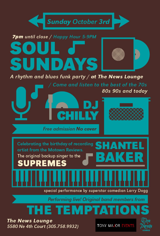 Soul Sundays at The News Lounge