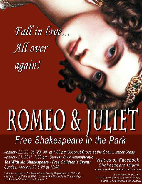the capulets downfall in william shakespeares romeo Scene ii capulet's orchard enter romeo romeo he jests at scars that never felt a wound juliet appears above at a window but, soft what light through yonder window breaks.