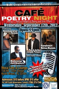CAFE Poetry Night flyer 09-12-12
