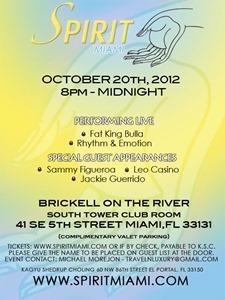 Spirit Miami Event Flyer