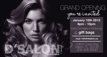 DSALON INVITATION