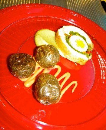 Che Grill's Pollo Matahambre and Potatoes