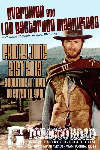 The-Everymen-and-Los-Bastardos-Magnificos-DJ-OSKI-TOBACCO-ROAD