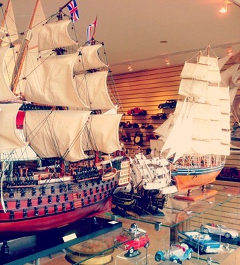 Zeidy's_Sailboats and Toy Cars