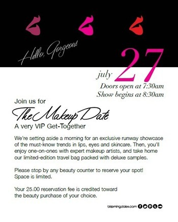 The Makeup Date Evite July 27, 2013