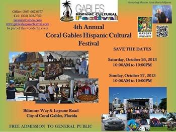 Coral Gables Hispanic Cultural Festival