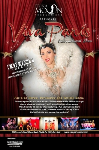 Invite Viva Paris Colony Theater