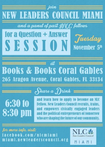 11-5-Books and Books NLC Event