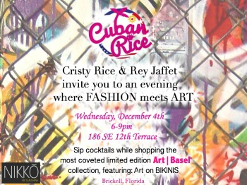 Cuban Rice Art Basel Launch