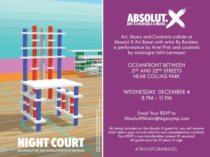 Absolut _X Art Basel_Dec 4