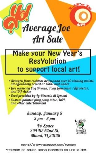 New Years Resyolution flyer