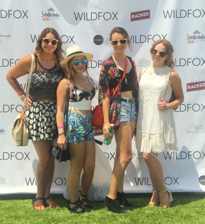 Bonding with these Miami babes on the rooftop of the Boulan at the Wildfox Brunch