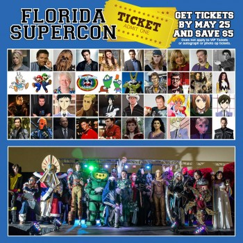 Florida Supercon Celebrates A Decade of Comics and Pop