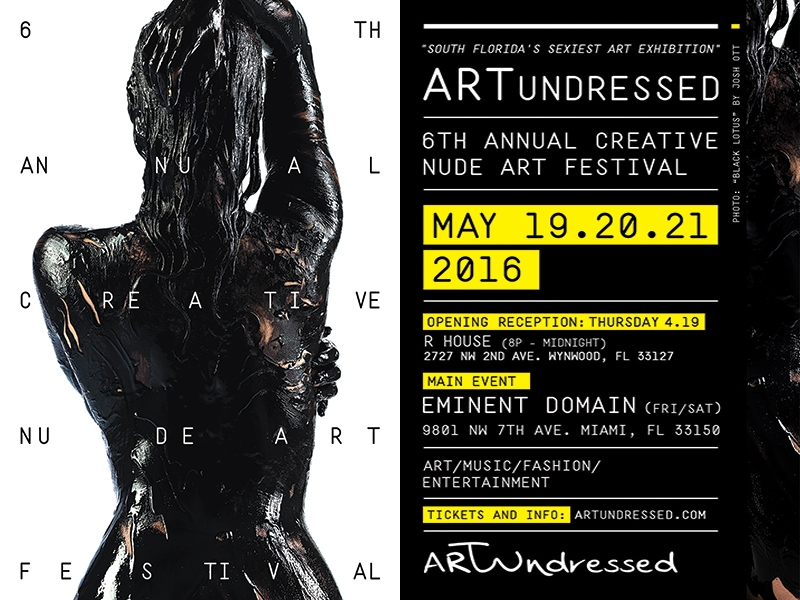 artundressed flyer_combo - R House - 800px