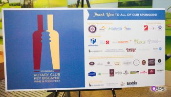 12th Annual Rotary Key Wine and Food Fest poster