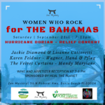 Women who Rock Hurricane Dorian Relief Concert 9/21/19