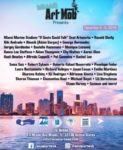 Miami Art Mob Presents Miami Marine Stadium If Seats Could Talk Seat Artworks 12/4/19 - 12/9/19