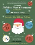 First Annual Centner Academy and Buena Vista Heights Neighborhood Association's Holiday Ham & Turkey Giveaway 12/23/19