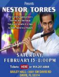 Nestor Torres at Bailey Hall 2/15/20