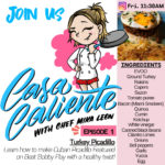 "Mika Leon from Caja Caliente Launches IG LIVE Cooking Class Series ""CASA CALIENTE"" this Friday 4/3/20"