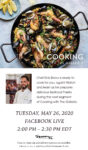 Cooking with The Galleria - Seasons 52 Chef Elvis Bravo on Facebook Live 5/26/20