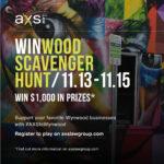 WINwood Scavenger Hunt 11/13/20, 11/14/20, 11/15/20