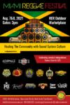 Miami Reggae Festival 8/7/21, 8/8/21
