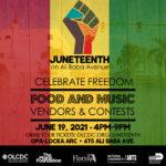 Juneteenth on Ali Baba Avenue Festival 6/19/21